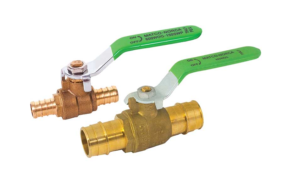 Matco-Norca PEX and cold expansion ball valves