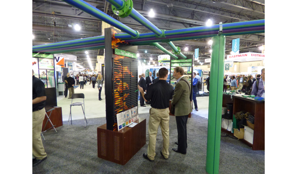 Greenbuild show attendees stop by Aquatherm