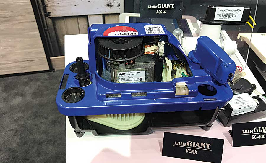 The Little Giant VCMX-20 Series of condensate pumps