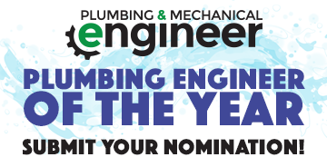 Plumbing engineer of the year
